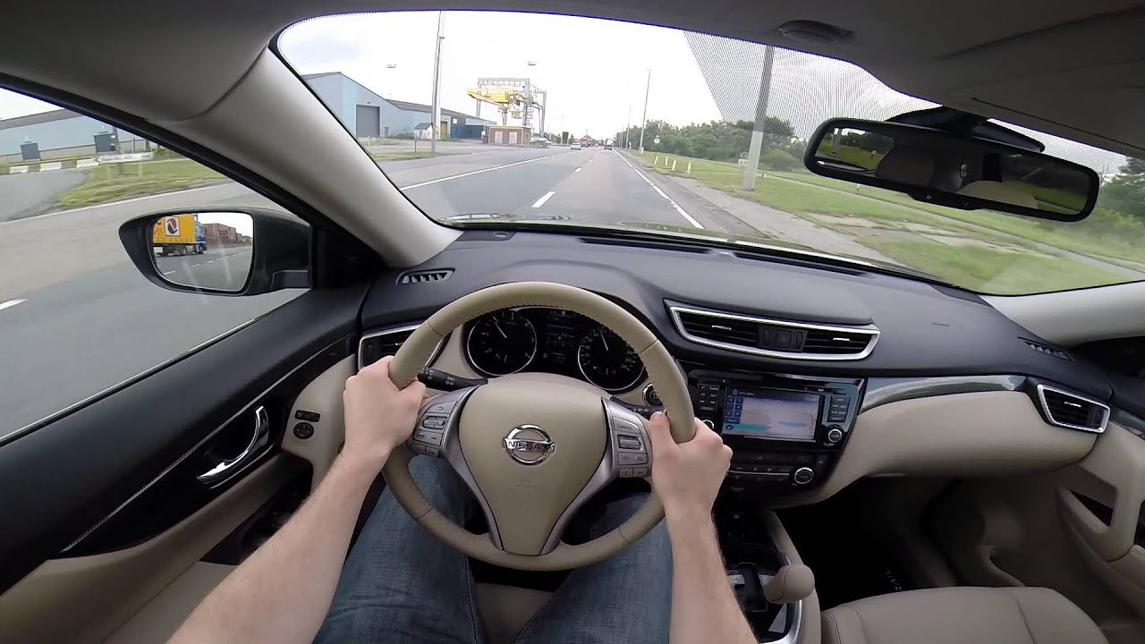 nissan x trail 2014 pov test drive gopro youtube. Black Bedroom Furniture Sets. Home Design Ideas