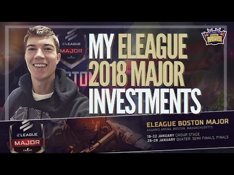 My Investments for the CSGO ELeague Major 2018