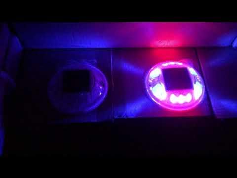 含稅附發票✦20年最新雙色【爆亮四面10燈珠】10個超取免運  LED太陽能警示燈 夜間警示 邊燈 側燈 太陽能爆閃燈