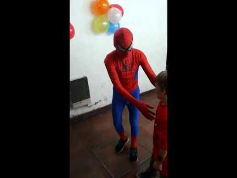 Spiderman back flip fail