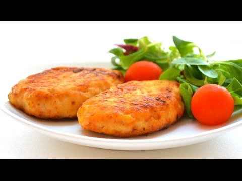 Рецепт куриных оладьев из куриного филе