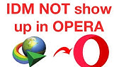 how to install IDM internet download manager to opera