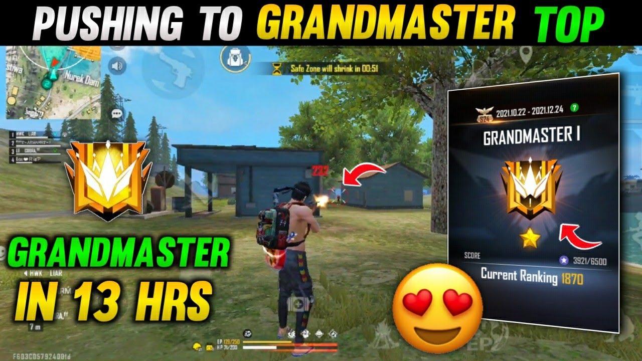 Download Road To Grandmaster Season 24 | Squad Grandmaster Gameplay Top 1 |  Grandmaster Pushing |