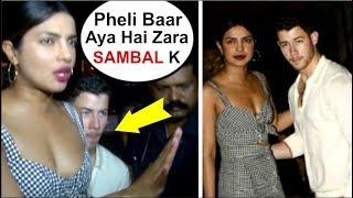 Priyanka Chopra SPOTTED With Boyfriend Nick Jonas In Mumbai