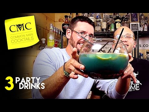 3 Great College Party Drinks 🎉 Big College Punch Style Drinks