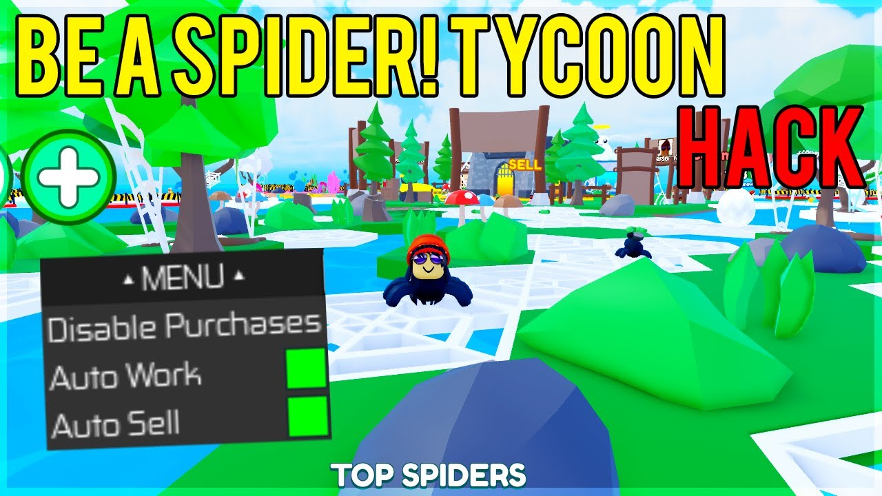 Roblox Be A Spider Tycoon Hack Script Very Genesis Exploits