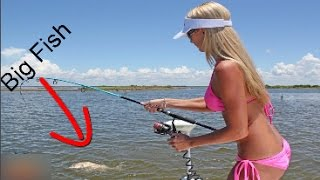 Fishing Girl - Fishing Girl Catches Monster Fish & How To Fishing