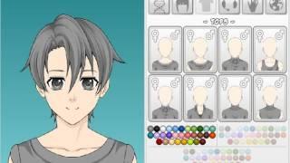 игры создай аниме персонажа