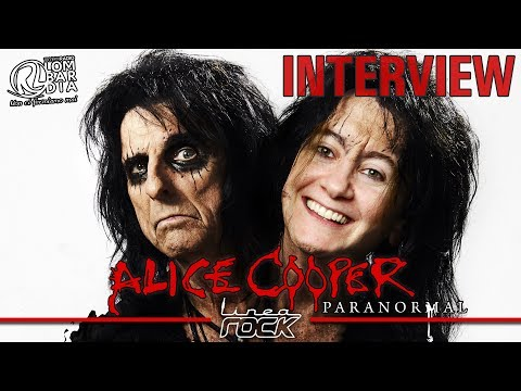 "ALICE COOPER  - ""Paranormal"" interview @Linea Rock 2017 by Barbara Caserta"