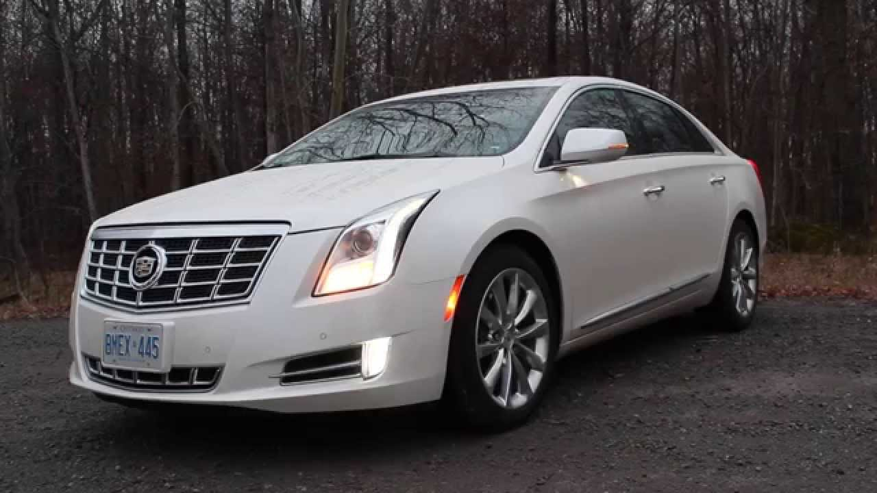 2013 Cadillac Xts Led Approach Lighting Remote Start Youtube