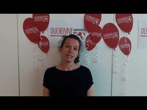Sam Turner at PTC Therapeutics on Duchenne Awareness Day 2017