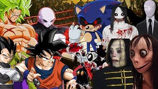 Crepypasta VS Dragon Ball SUPER