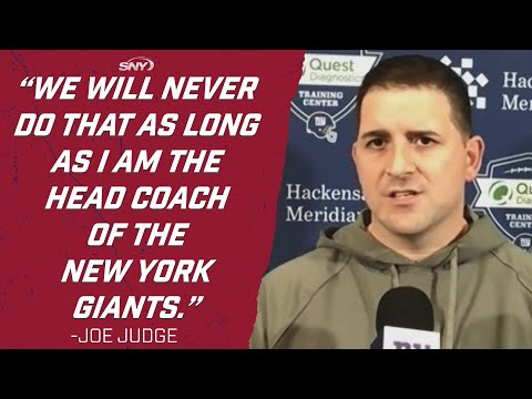 Joe Judge has some strong words about the Eagles game that eliminated the Giants   SNY