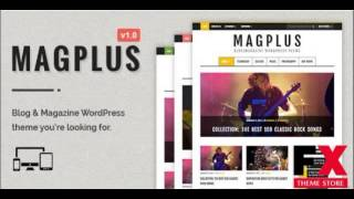 Preview MagPlus - Blog and Magazine WordPress Theme TForest