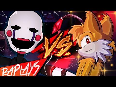 PUPPET VS TAILS DOLL | KRONNO & CYCLO Ft. PUNYASO | RAPSTEP PLAY ( Evil Rap Battle )
