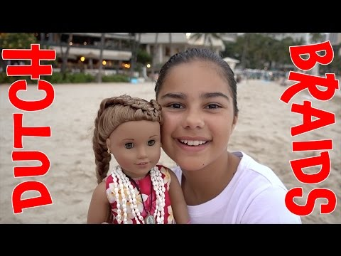 How to do a Dutch Braid on your Doll | Grace's Room