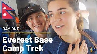 Everest Base Camp Trek | Day One | Scary Lukla Flight