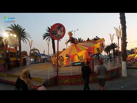 Manège à la plage de Casino - Harhoura