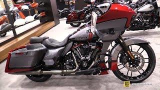 2019 Harley Davidson CVO Road Glide - Walkaround - Debut at 2018 AIMExpo Las Vegas