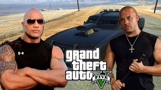 Video de FAST & FURIOUS en GTA V