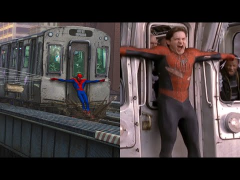 Is Tobey Maguire's SpiderMan in Into the SpiderVerse?