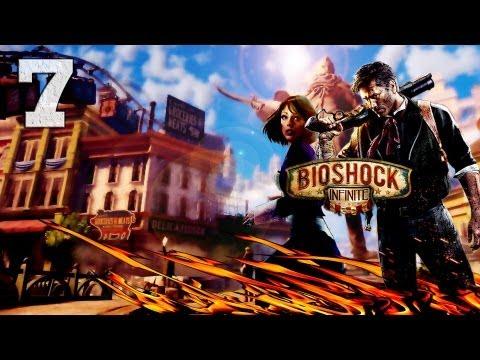Смотреть прохождение игры Bioshock Infinite. Серия 7 - В поисках шок-жокея. [Art let's play]