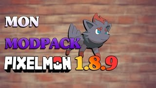 MON MODPACK PIXELMON 1.8.9