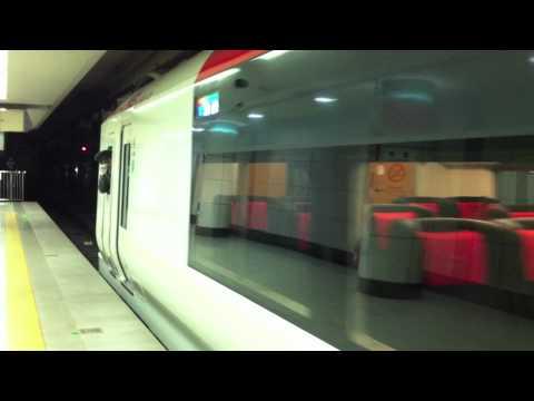 Narita Express Arriving at Narita International Airport