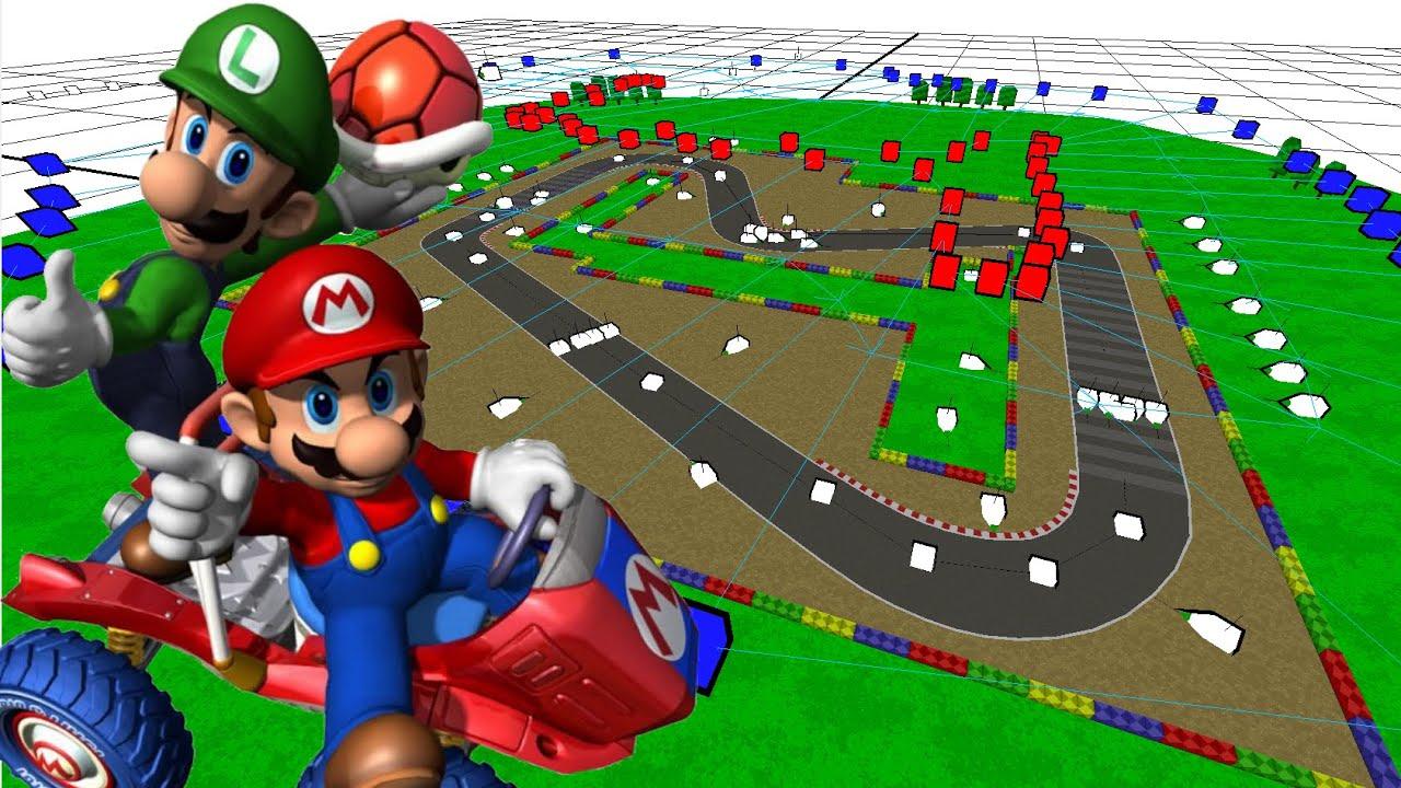 all mario kart double dash tracks