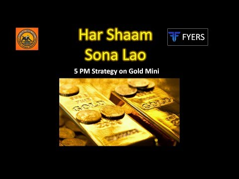 Gold Trading Evening Strategy For Working Professionals – Har Shaam Sona Lao