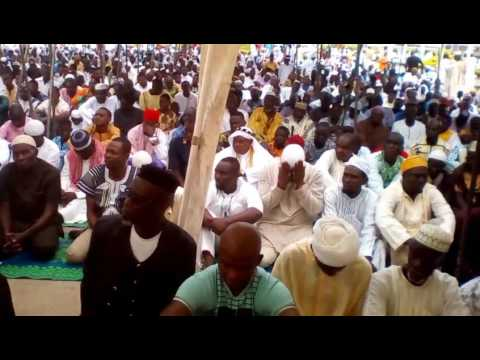Eid-ul-Fitr 2017 at La Trade Fair Led by Shaikh Rashid Odoi