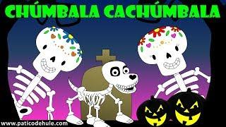Las calaveras salen de su tumba - chumbala cachumbala - canción infantil thumbnail