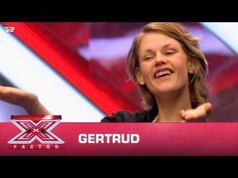Gertrud synger egen sang (Audition) | X Factor 2020 | TV 2
