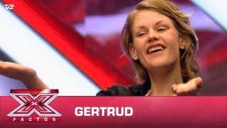 Gertrud synger egen sang (Audition)   X Factor 2020   TV 2