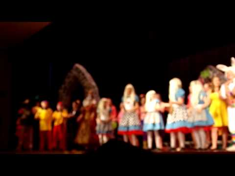 Alice in Wonderland Southern Lehigh Middle School musical ending number