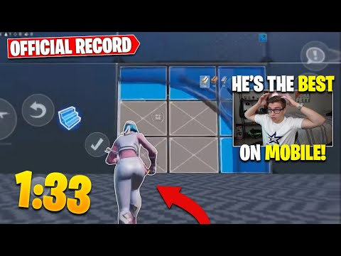 Reacting To *OFFICIAL* Mobile Edit Course WORLD RECORD (Ducky Reacts To Best Mobile Editor)