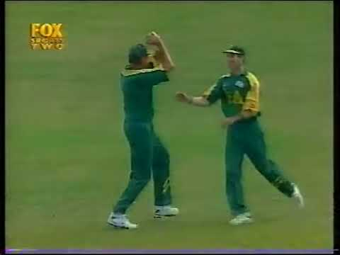 ICC Knockout Trophy 1998 Final South Africa vs West Indies (First ever Champions Trophy)
