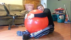 lower back pain stretches with exercise ball with are jay