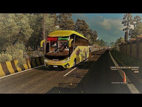 ETS2: Rajshahi to Dhaka (National Travels Scania K410 Multiaxle)
