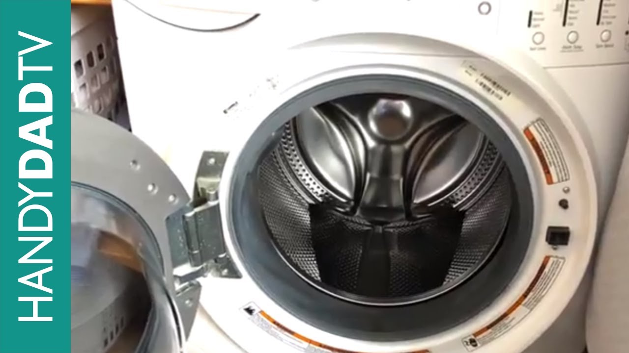 Water In The Drum When Washing Machine Is Off Youtube