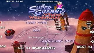 Super Granny Winter Wonderland lv 22