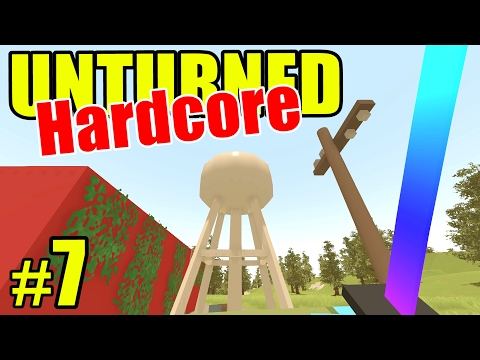 """Unturned HARD Mode - E07 """"Love that Dirty Water!"""" (Overgrown 3+ Map)"""