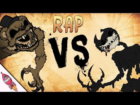 Five Nights at Freddy's VS Bendy and the Ink Machine Rap Battle | Freddy vs Bendy 3 | Rockit Gaming