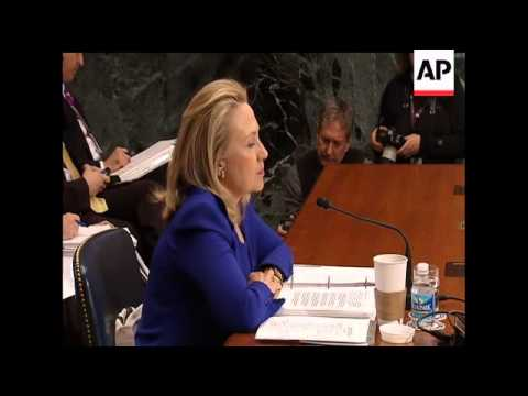 Secretary of State Hillary Rodham Clinton says Syria's President Bashar Assad fits the definition of