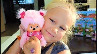 Посылка с милыми МОНЧИЧИ для Алисы ! Monchichi toys for kids