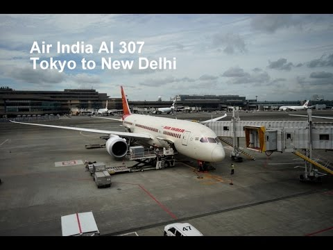 Air India AI 307 Boeing 787-8 Dreamliner Tokyo[NRT] to New D