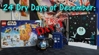 24 DRY Days of December - Day 1 - Tea And Lego!