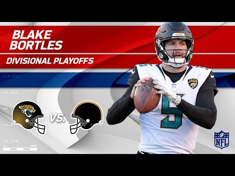 Blake Bortles Helps Jags Defeat Pittsburgh! | Jaguars vs. Steelers | Divisional Player HLs