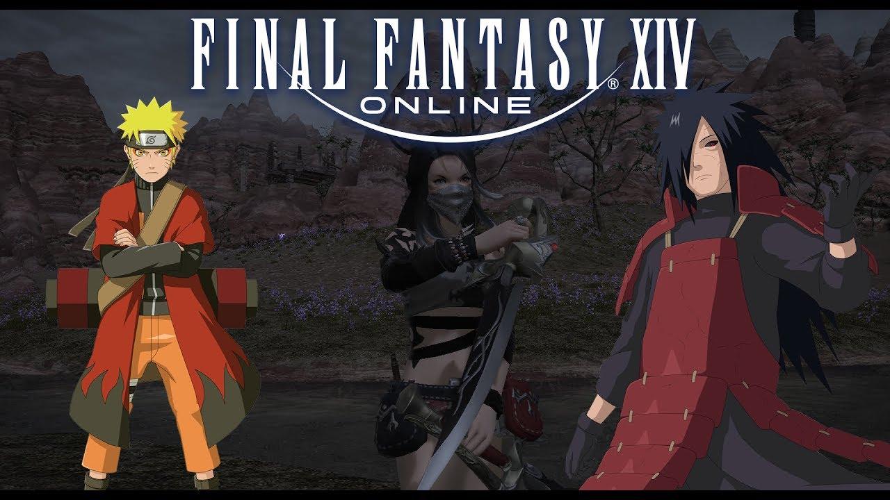 Naruto Meets Final Fantasy Xiv You