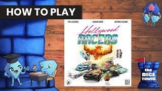 Hollywood Racers Board Game - How to Play. With Stella & Tarrant